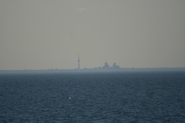 Day 24: Looking over Lake Ontario - 28 May 2007