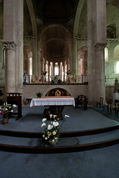Saint-Hilaire-le-Grand Abbey Choir