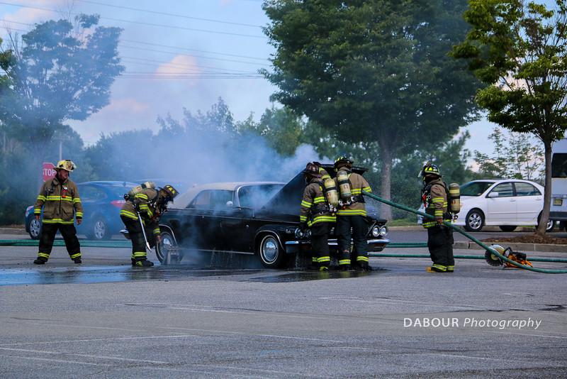 Car Fire Home Depot Parking Lot