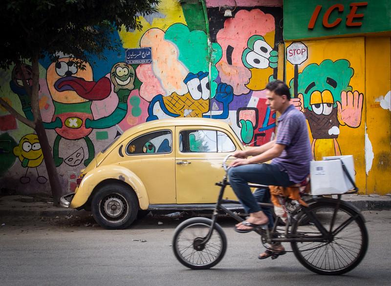 colourful Zamalek | Cairo