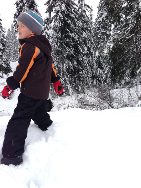 A visit to the snow