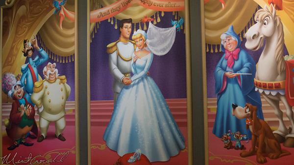 Disneyland Resort, Tokyo Disneyland, Fantasyland, Cinderella, Castle, Fairy Tale Hall