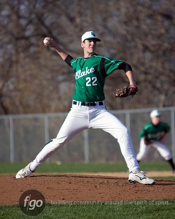 Minneapolis Washburn v The Blake School Baseball 4-9-10