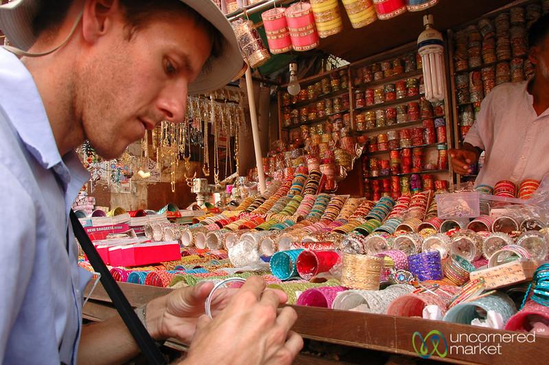 Picking Out Bangles - Kolkata, India