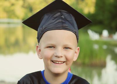 Braxton is going to Kindergarten!