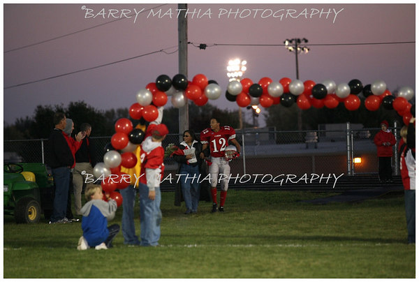 Lawson Football Senior night 06