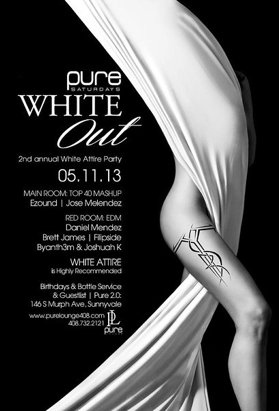 5/11 [White Out@Pure Lounge]