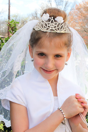 Olivia's 1st Holy Communion