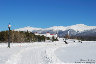 White Mountains in Winter