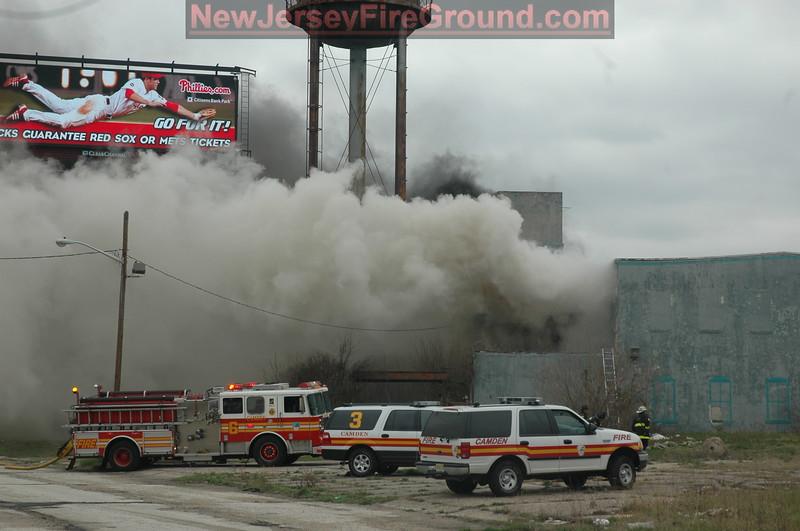 4-6-2008(Camden County) CAMDEN 1211 Penn St.-3rd Alarm Warehouse