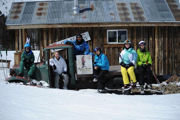 Skiing Montana 2014