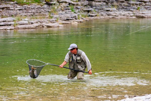 Rivière Jupiter / Anticosti, pêche au saumon et chasse