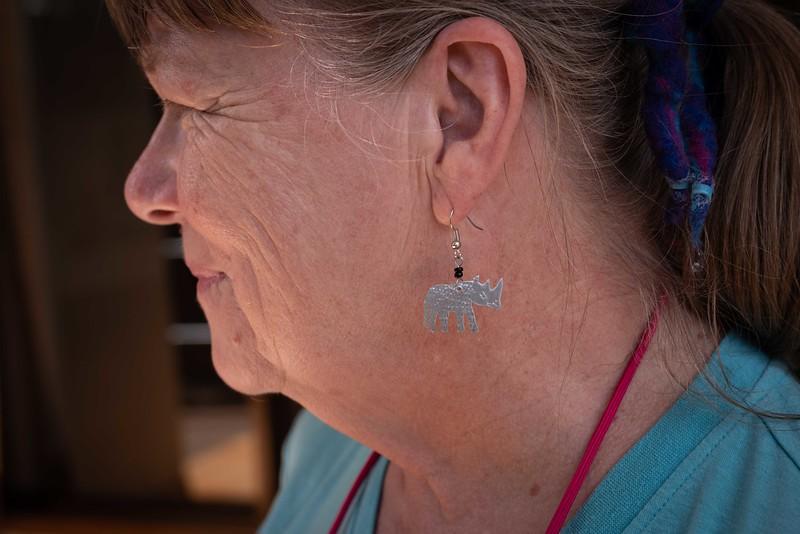 New Earrings (Carol Lynn)