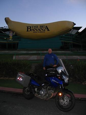 AU 24 Corindi Beach to Mountains ride