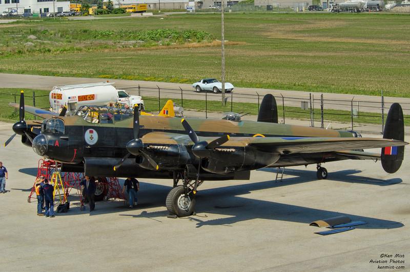Canadian Warplane Heritage Museum Lancaster MK. X at 2015 SkyFest