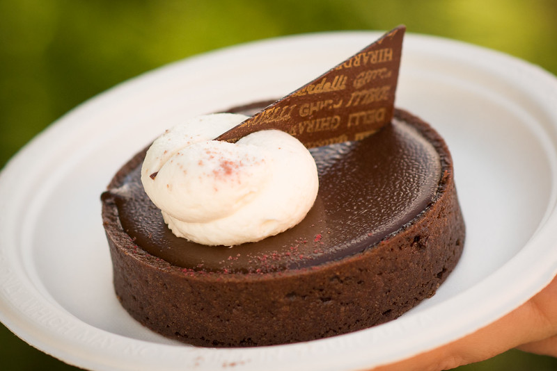 Ghiradelli Chocolate Raspberry Torte - Epcot Food & Wine Festival 2016