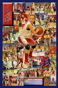 Crosby Girls Basketball Collages