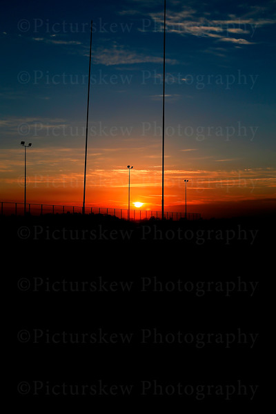 Sunset From Dromore Rugby Club