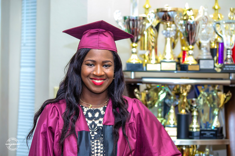 CHELSEY AZINGE GRADUATION CEREMONY