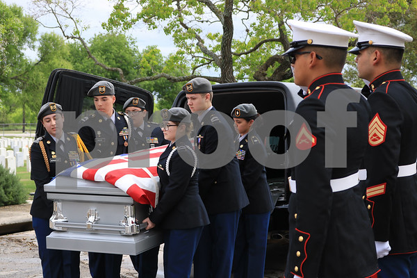 JROTC Veterans' Funeral