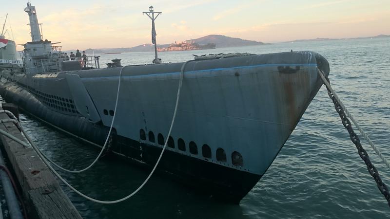 USS Pampanito, historic submarine to visit in SFO