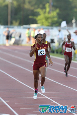 Class 3A - Running Event Finals - Girls 400m Dash