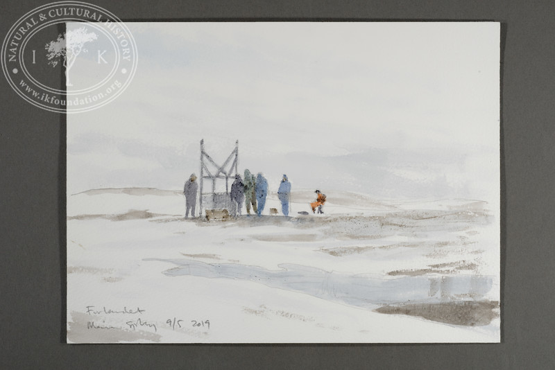"""Building the Field Station at Prins Karls Forland 
