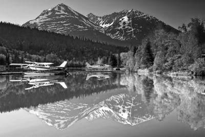 Black-White Landscape - 黑白摄影, 风景