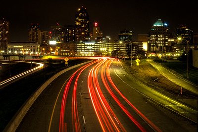 St Paul: Star Bursts and Light Trails