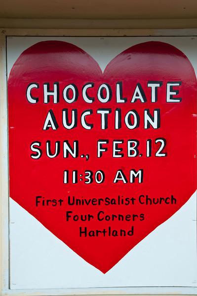 Chocolate Auction, Hartland