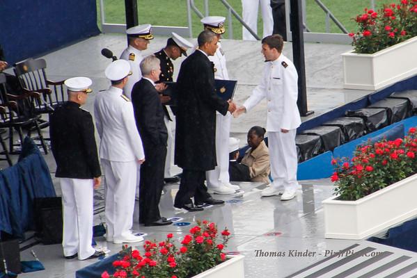 Naval Academy Graduation 5/24/13