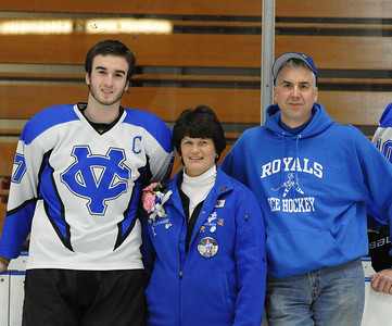 CVCA Senior Night 2012