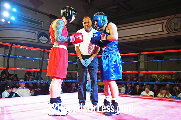 Bout #16:  Brody Stanford (Blue Gloves), International BC  vs  KC Austen (Red Gloves) Strong  Style, 152 Lbs., TITLE FIGHT