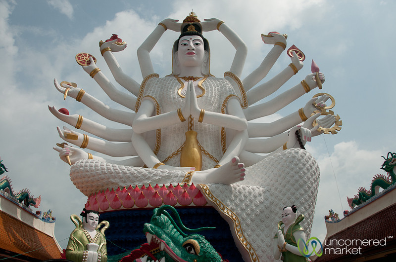Multiple Arms at Wat Plai Laem - Koh Samui, Thailand