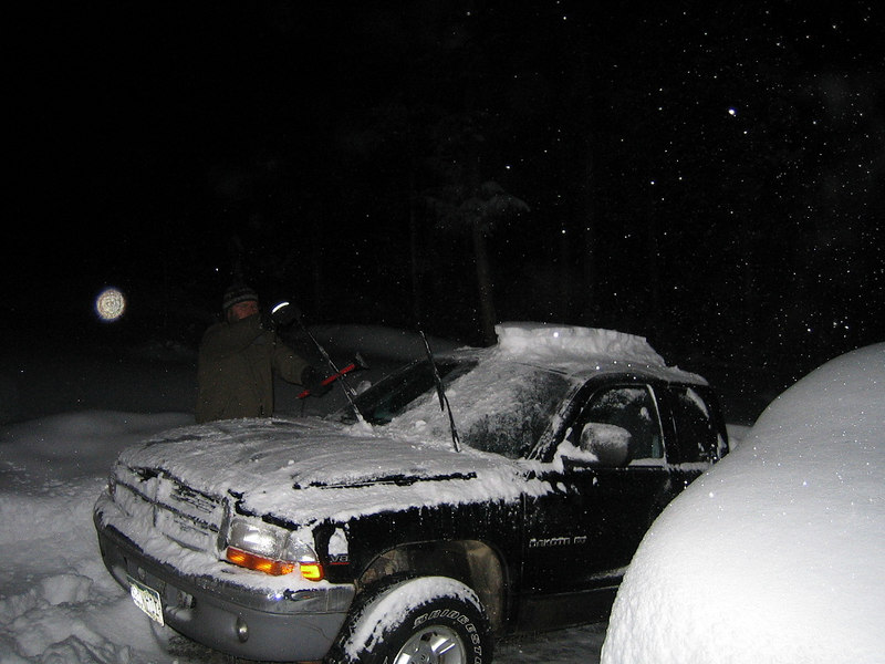 Hey, its SNOWING! January 5, 2007
