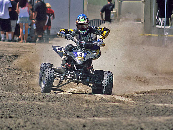Motorcycle and quad racing