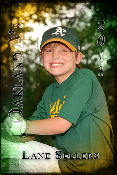 2011 - Oakland A's - Mustang