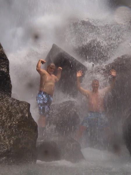 Dom Mar2014 - Supermen in Trafalgar Falls.JPG