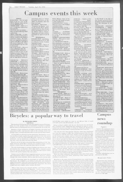 Daily Trojan, Vol. 64, No. 106, April 18, 1972