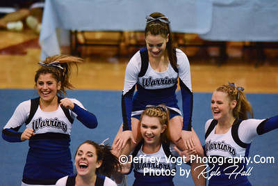 11-15-2014 Sherwood HS Varsity Cheerleading at Blair HS MCPS Championship, Photos by Jeffrey Vogt Photography with Kyle Hall