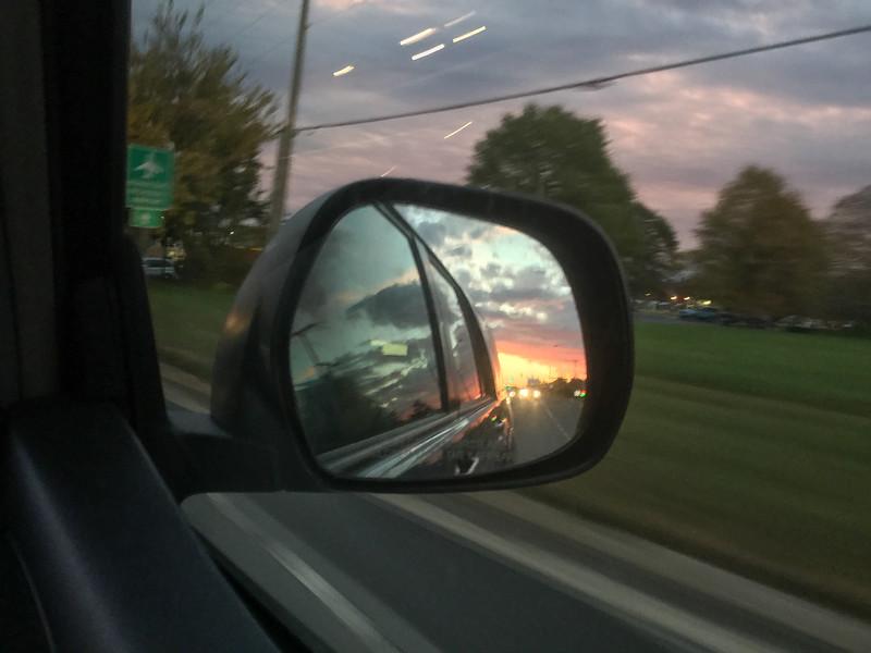 Objects in Mirror...