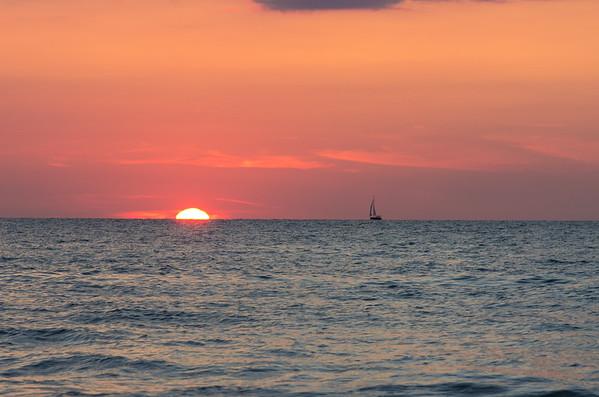 LAKE MICHIGAN SUNSETS 2014
