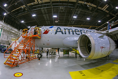 American Airlines DCA Maintenance Tour