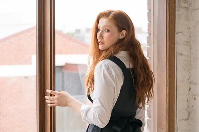 Model: Alexandra Sinclair, HMUA: Jen Tighe