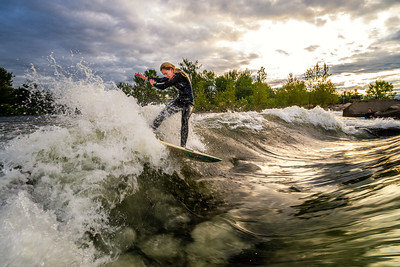Aug 1 - Boise River Surfing