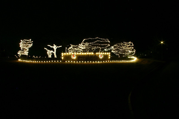 Bauerle Ranch Christmas Lights 2010