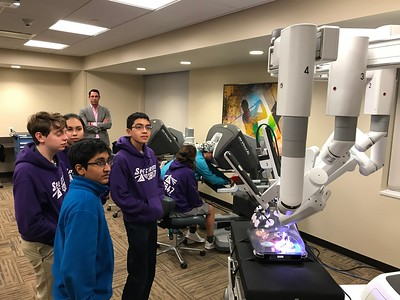 Memorial Hermann Memorial Medical Center's new surgical robot