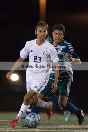 Men's Varsity Soccer Copper Hills at Snow Canyon