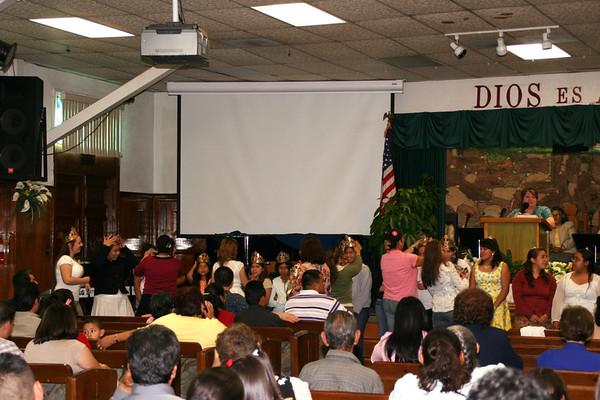 Graduación en la Iglesia 2006