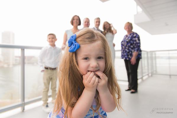 Boston Seaport Family Photo Session